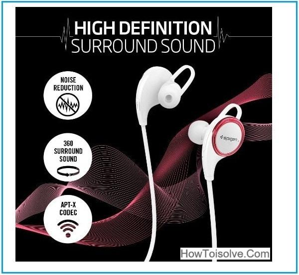 Spigen iPhone 7 bluetooth headphones