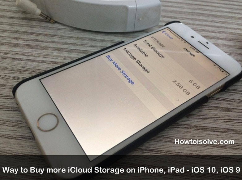 secrate way to Buy more iCloud Storage on iPhone