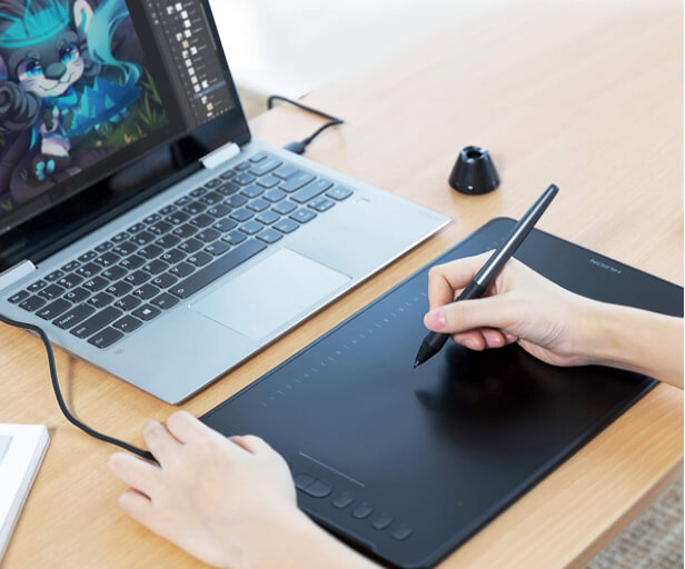 Huion H1161 Graphic Tablet for MacBook Mac