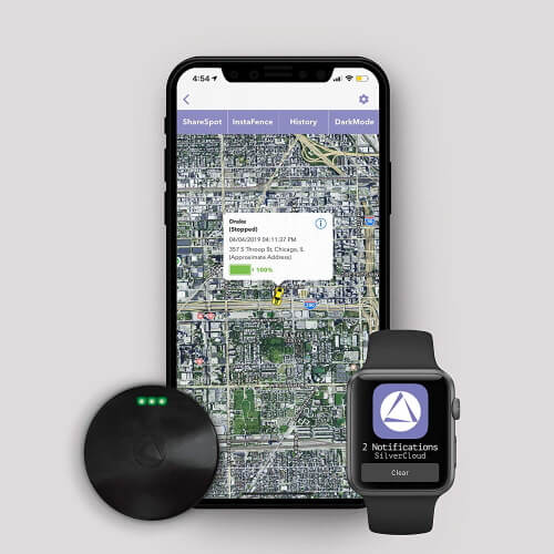 LandAirSea Vehicle Tracking for iPhone