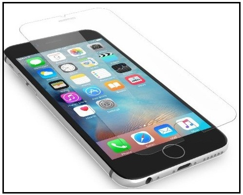 External Tempered Glass iPhone 7 Screen 3D touch