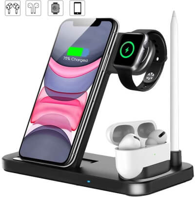 QI-EU Docking Stand Holder for iPhone 7 and iPhone 7 plus