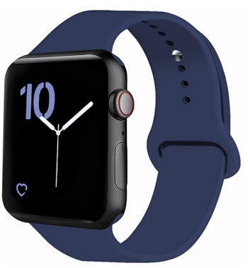 Silicone Strap for Apple Watch 42mm Size