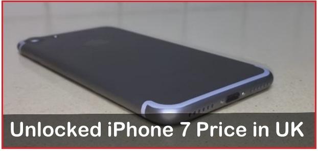 Unlocked iPhone 7 Price in UK