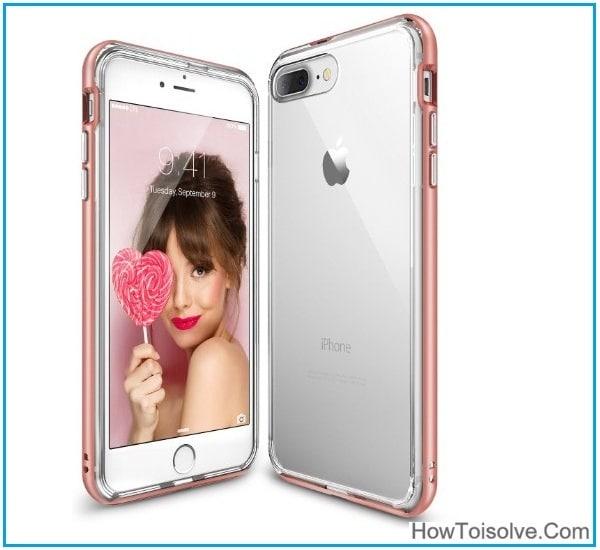 iPhone 7 Plus Frame case for men and women unisex case