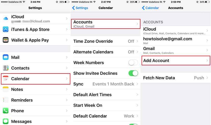 USA Holiday on iPhone calendar running on iOS 10