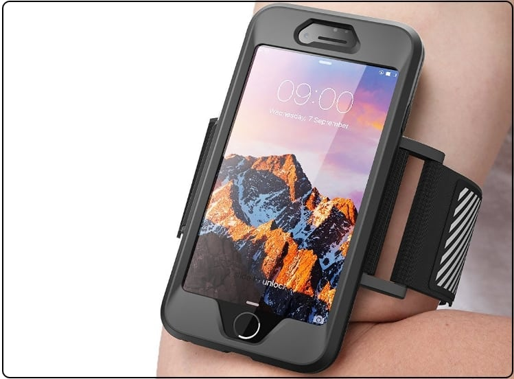 1 SUPCASE Best iPhone 7 plus armband