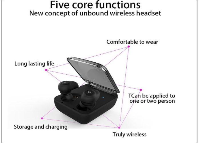 1 U-Bluetooth Wireless iPhone 7 Airpods