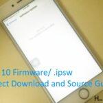 Steps for Download iOS 10 ipsw Firmware iPhone/ iPad: Direct Download