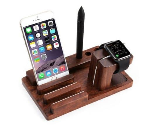 Megadream wooden stand for iPhone 7 Plus