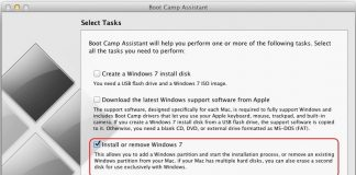 Remove Windows Partition from Mac Bootcamp