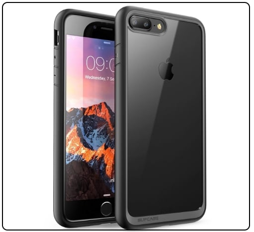 iPhone 7 Plus bumper case with Smart look and Protection in Black Friday Deals