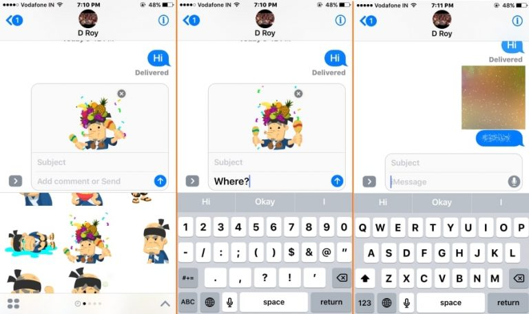 How to Send invisible ink or Hidden iMessage from iPhone/ iPad