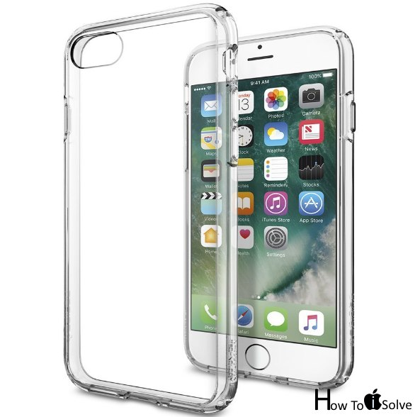 Spigen durable clear case for iPhone 7