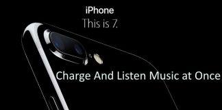 Charge and Listen music on iPhone 7 or iPhone 7 Plus