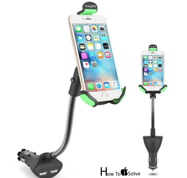 EnergyPal Gooseneck Car mount for iPhone 7 Plus