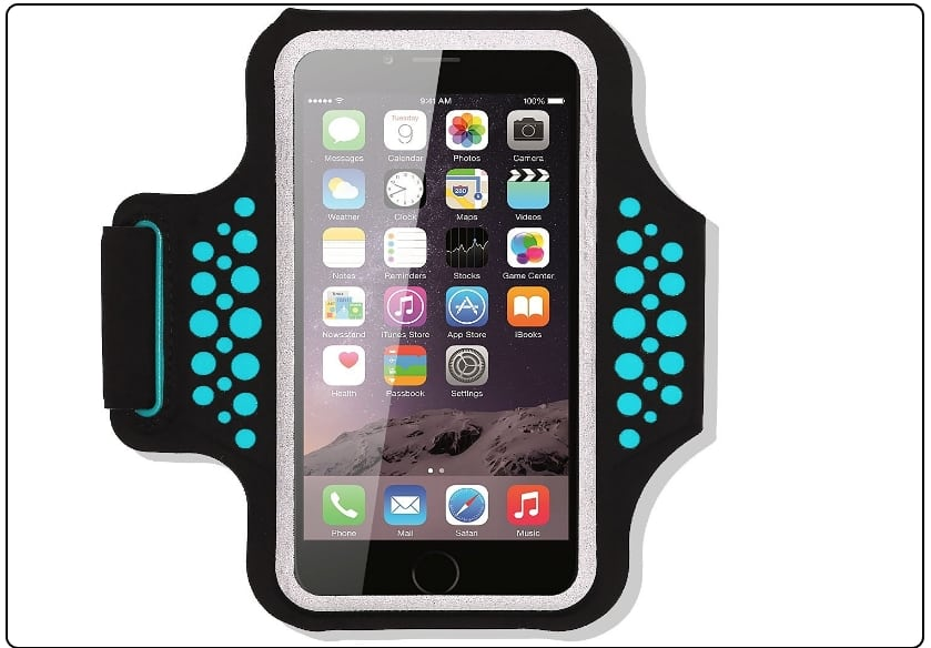 4 Haissky Sport Running Armband for iPhone 7 plus