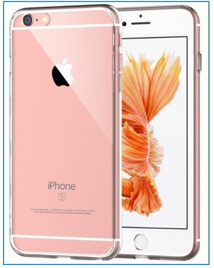 iPhone 6 or 6S bumper clear case