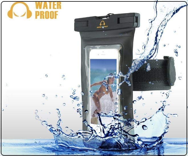 6 Gear Best - Waterproof Armband Case for iPhone 7 plus