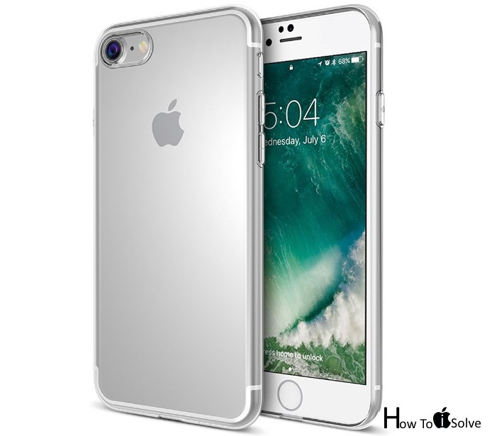 Maxboost iPhone 7 Bumper clear case