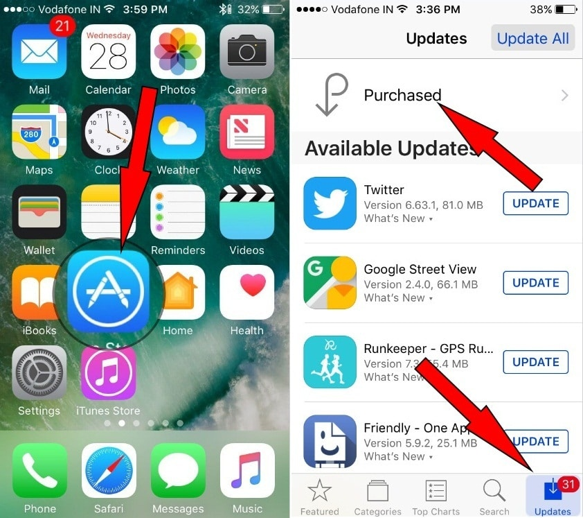 Recover Deleted App iMessage App on iPhone