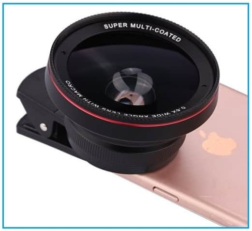 Apple iPhone 7 Camera Leans Attachments to shot HD photos