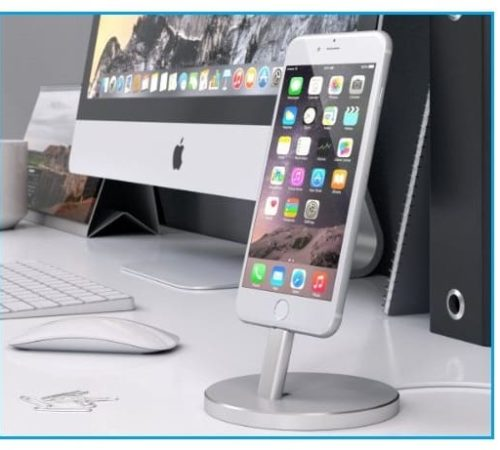 Apple iPhone 7 Charging Stand to charging mobile