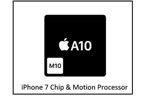 iPhone 7 Chip quad-core A10 Fusion 64-bit architecture