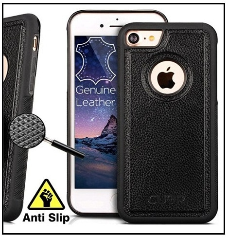 Genuine Leather Cases for Apple iPhone 7 presented by CUVR