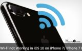 Troubleshooting Wi-Fi not working in iOS 10 on iPhone 7 Plus