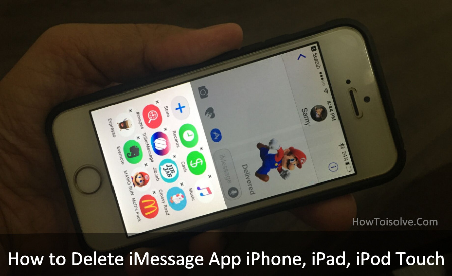 how to delete app on iphone how to delete imessage app on iphone ipod ios 11 10 18707