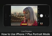 Enable or take or How to Use iPhone 7 Plus Portrait Mode