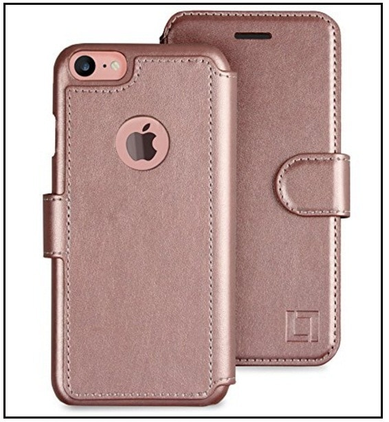 LUPA Faux leather Wallet case for iPhone 7