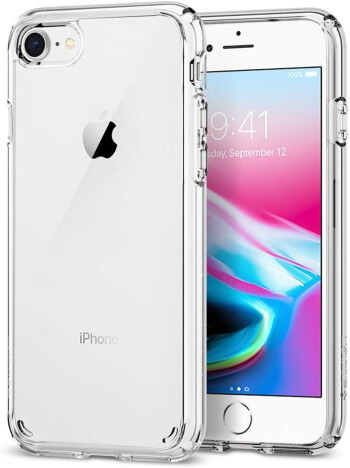 Spigen Crystal Clear iPhone 7 case