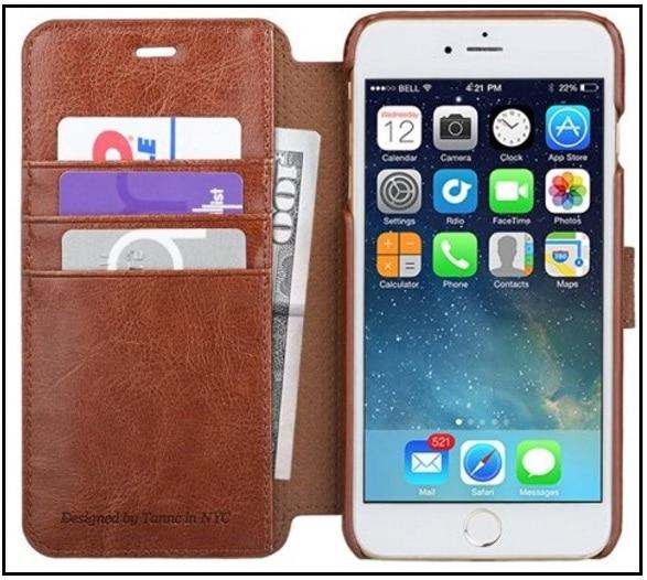 Best iPhone 7 Flip leather case