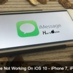 iMessage Not Working On iOS 10 or iOS 9 For iPhone – Here it's Fixed