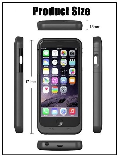 iBeek the best iPhone 7 Plus battery Case