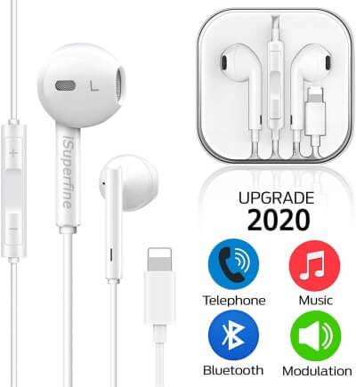 iSuperfine Earphone for iPhone 7
