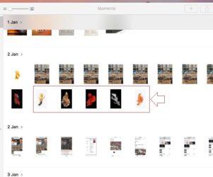 1 unhide or hide photos in mac photo app from macos sierra