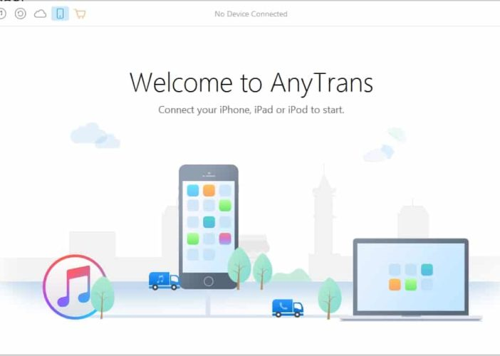 2 AnyTrans iPhone manager inplace for iTunes