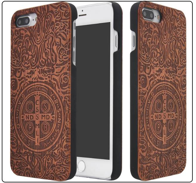 3 ZenNutt iPhone 7 Plus wooden printed case copy