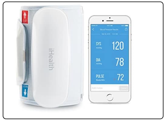 iHealth wireless BP checker for iOS device
