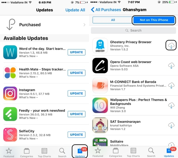 4 Download Recently Deleted app from App store
