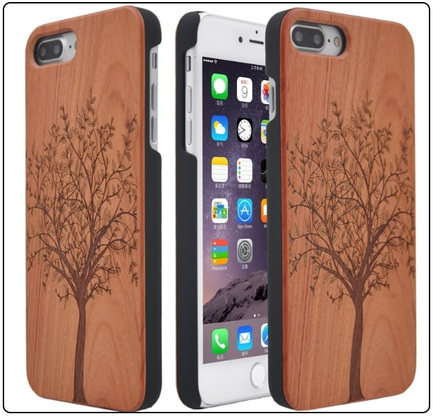 4 Handmade Wooden Case for iPhone 7 Plus