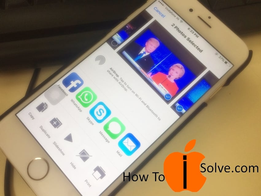 Hide Photos and Videos on iPhone 7 from Photo app in iOS 10