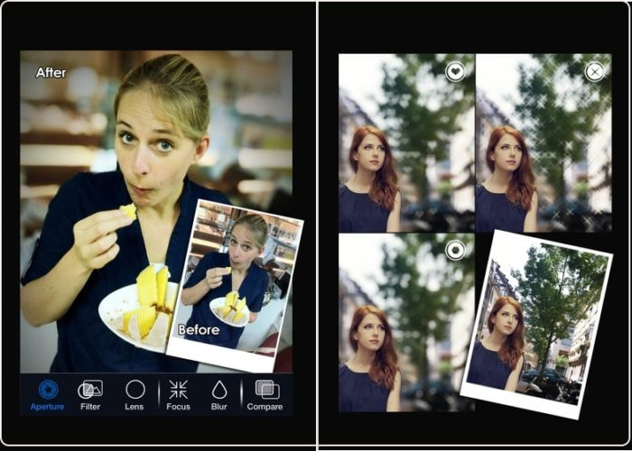 5 iPhone app for Depth effect or Blur effect
