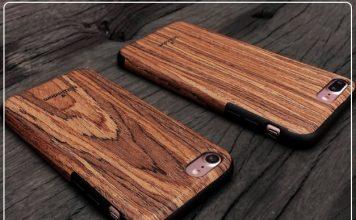 6 Wooden material iPhone 7 Plus case