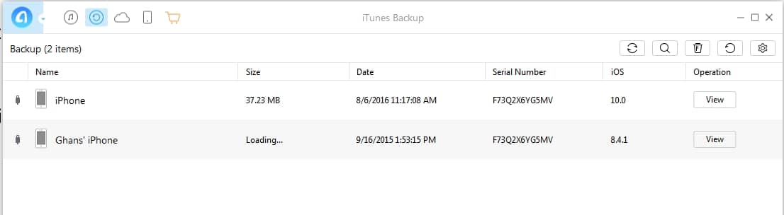 8 See all iTunes backup on Mac or PC