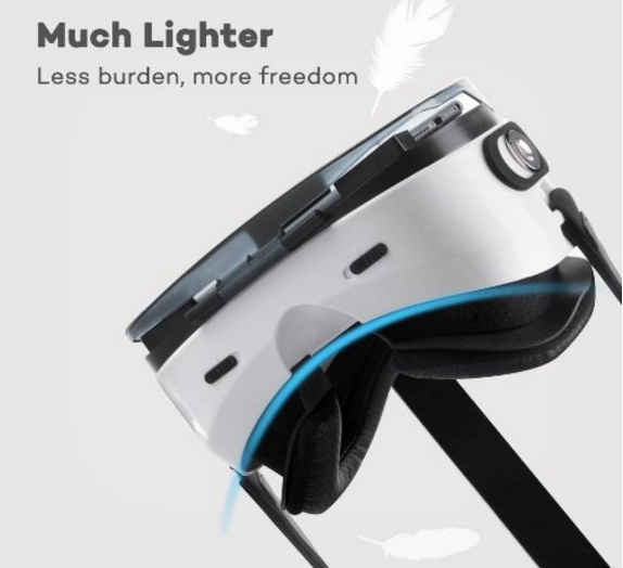 Review of HooToo VR Headset with magnetic trigger