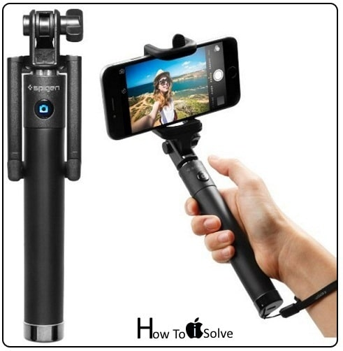 best selfie stick iphone 7 plus iphone 7 adjustable clamp. Black Bedroom Furniture Sets. Home Design Ideas